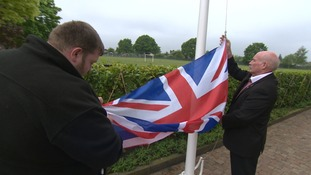 Village dispute over responsibility of war memorial flagpole
