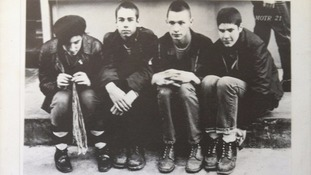 John Berry, second right, played guitar on Polly Wog Stew