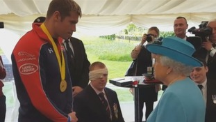 Medal-winning Cockermouth soldier meets the Queen