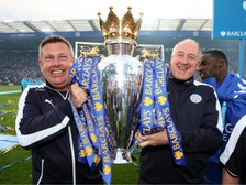 Craig Shakespeare and Steve Walsh