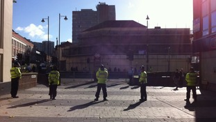 Around 800 police officers are expected to be in Walsall for the protest