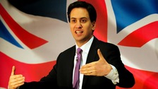 Ed Miliband will compare the UK's current economic situation to the years after the Second World War, at the Labour conference.