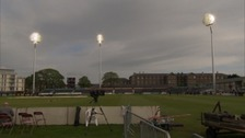Let there be lights - cricket club causes controversy