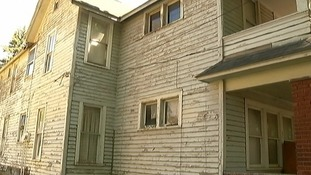 The girl was allegedly held in the basement of this house