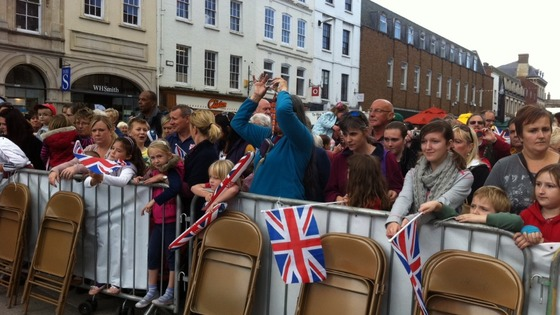 Crowds gather in Hereford for Paralympic homecoming