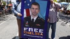 Manning is currently serving a 35-year sentence