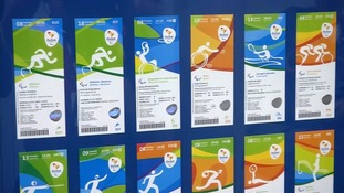 Rio 2016: Glimpse of first distributed tickets