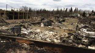 Canada wildfire: Black bear warning for returning residents