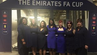 Lewisham and Greenwich NHS Choir perform at Wembley for FA Cup final