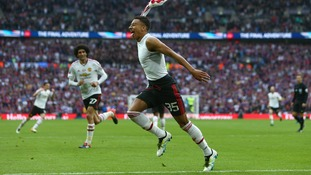 FA Cup Final match report: Crystal Palace 1-2 Manchester United (after extra time)
