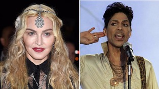 Madonna in Prince tribute at Billboard Music Awards