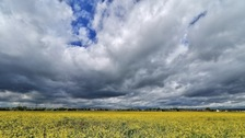 Big skies above Methley  JOHN P EARNSHAW