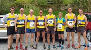 The winning Team Cumbria