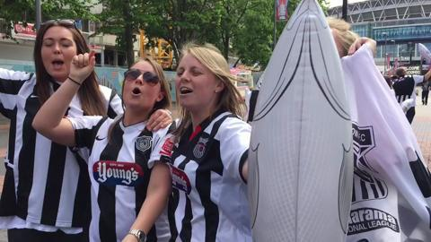 Grimsby fans