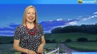 Philippa Drew presents the weather for the South and South East