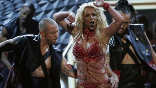 Britney Spears opened the awards by performing a number of her hits