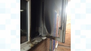 Person treated for smoke inhalation after kitchen fire