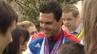 Tredegar welcomes home Paralympic hero Mark Colbourne