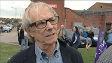 Ken Loach won the award for the second time in his career