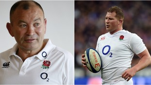 Eddie Jones (left) has backed Hartley (right) to be fit enough to lead England in Australia.