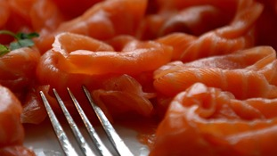 Fish, such as salmon, is a source of omega-3
