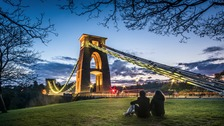 First prize went to Paolo Ferla whose picture of the Suspension Bridge was named 'Bristol's Energy'.