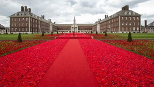 Chelsea Flower Show's red carpet: Poignant tribute to armed forces