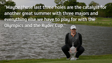 McIlroy speaks after winning the Irish Open.