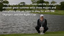 McIlroy speaks after winning the Irish Open.
