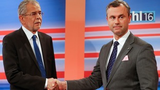 Defeated Norbert Hofer urged his supporters not to be 'despondent'.