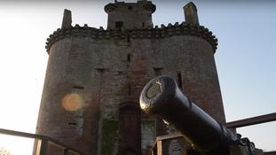 Caerlaverock Castle in Dumfries