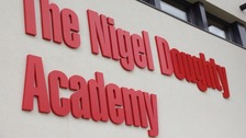 Sign outside renamed Forest Academy