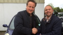 "Iain Harris described the experience of selling a car to the PM as ""surreal"""