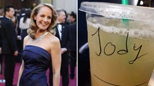 "Helen Hunt was referred to as ""Jody"" by the barista"