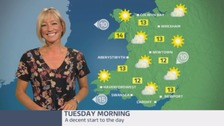 Wales Weather: Not a bad start to the day!
