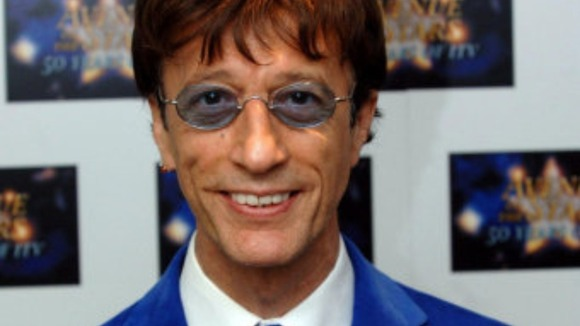 Robin Gibb who sadly passed away earlier this year following a long battle with cancer