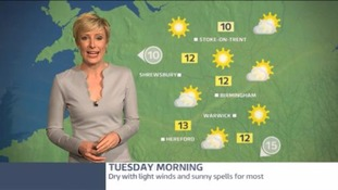 West Midlands Weather: Dry and sunny