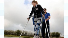 Paraplegic athlete allowed to take part in charity run