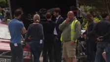 Broadchurch stars spotted filming new series