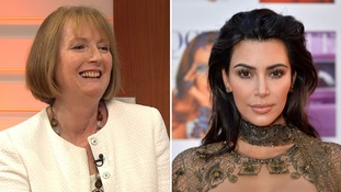 Harriet Harman: Nude selfie star Kim Kardashian is 'brave and pioneering'