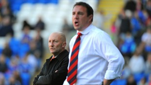 Malky Mackay and Ian Holloway
