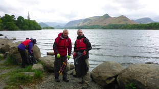 Volunteers repair flood-damaged fells