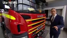 Granada's special investigation into fire service cuts