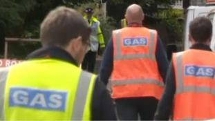 Gas leak leads to evacuations