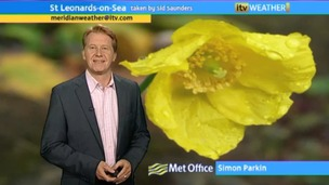 Simon Parkin presents the weather