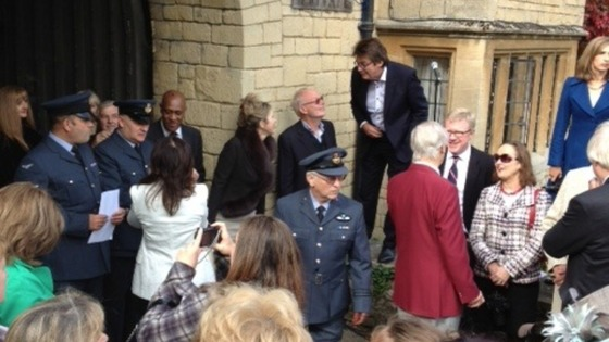 The world&#x27;s media outside the former Bee Gees home in Thame