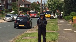 Police cordon off area of Broom