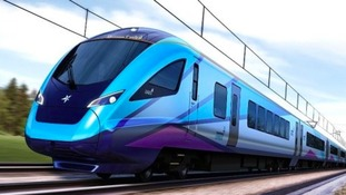 An image of the new trains.