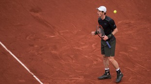Murray squeezes past Stepanek to move into second-round at French Open