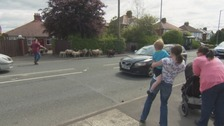 Sheep bemuse drivers by flocking onto busy Carlisle road